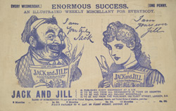 Advert for Jack and Jill, Comic reverse